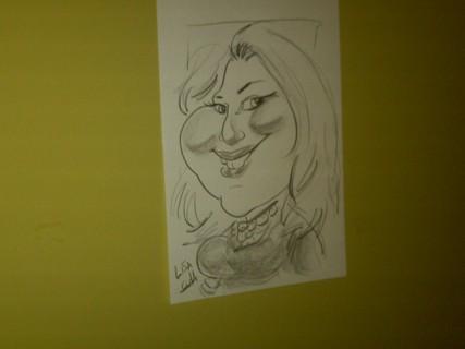 Lisa caricature